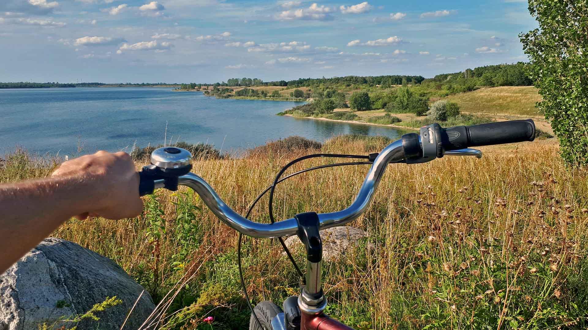 Fahrradtour Leipziger See