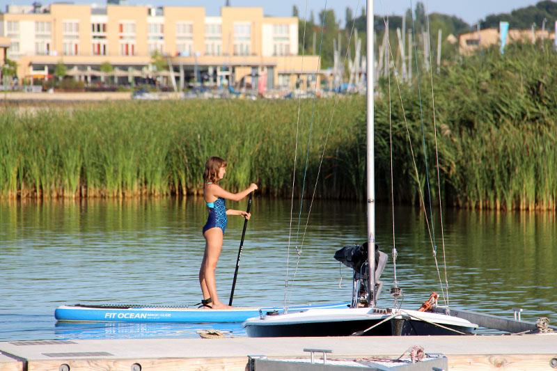 Standup Paddling Leipziger Seen