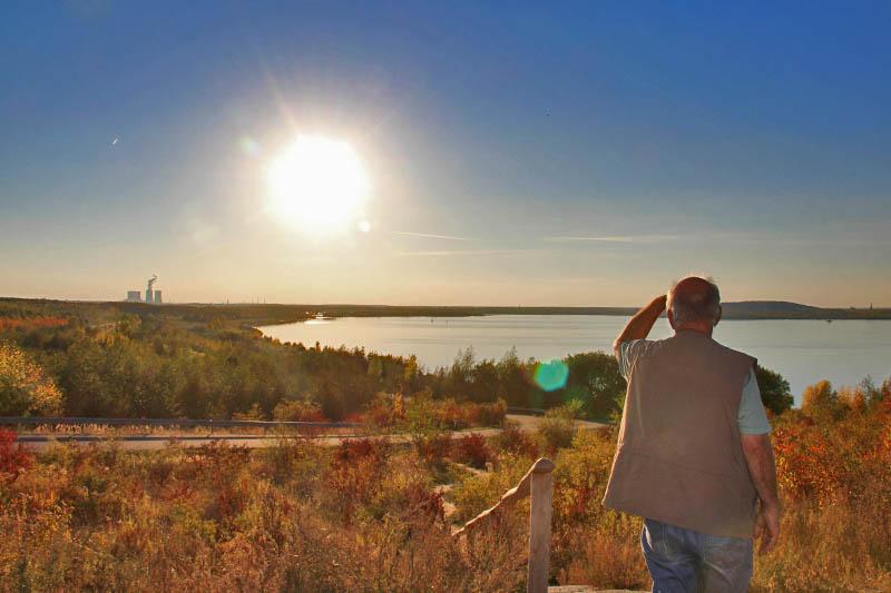 Aussichtpunkt Störmthaler See