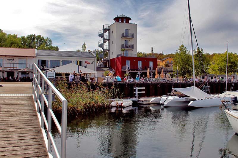 Marina Mücheln Hafen
