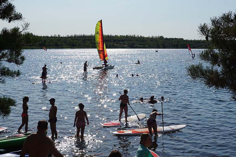 Markkleeberger See Südufer