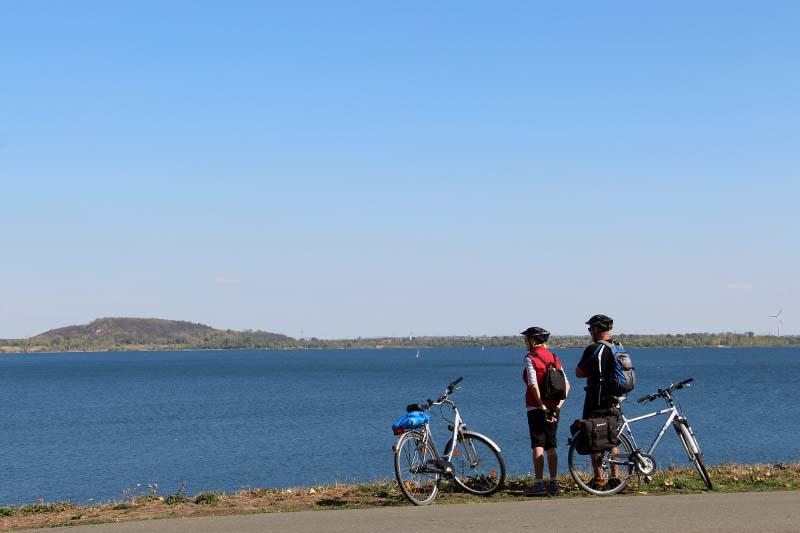Radwandern an den Leipziger Seen