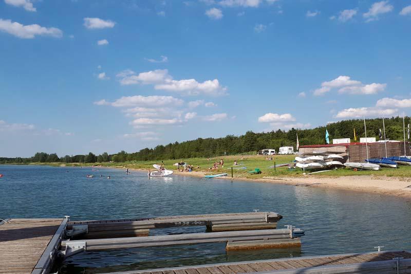 Badestrand Schladitzer See