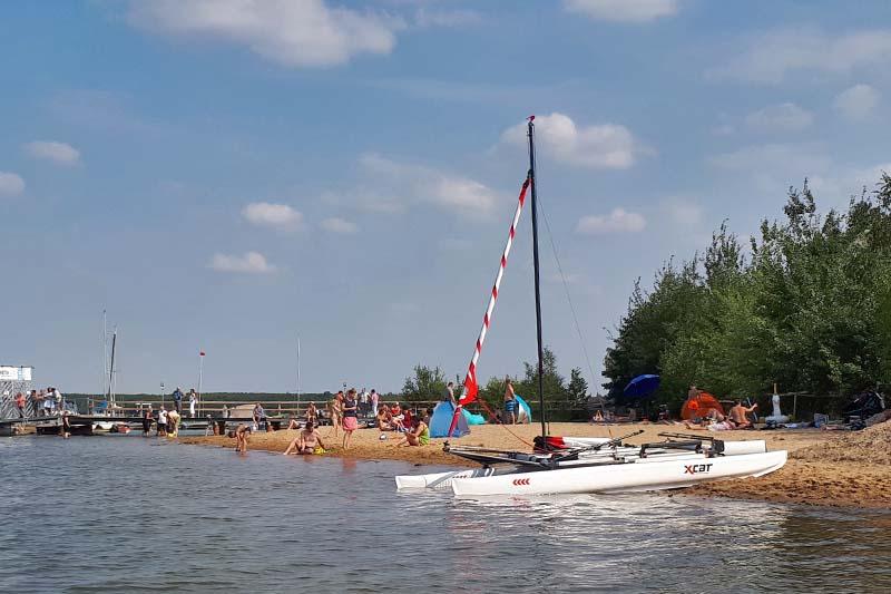 Badestrand Störmthaler See