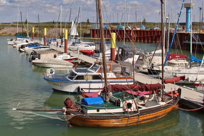 Bootssteg Zwenkauer Hafen