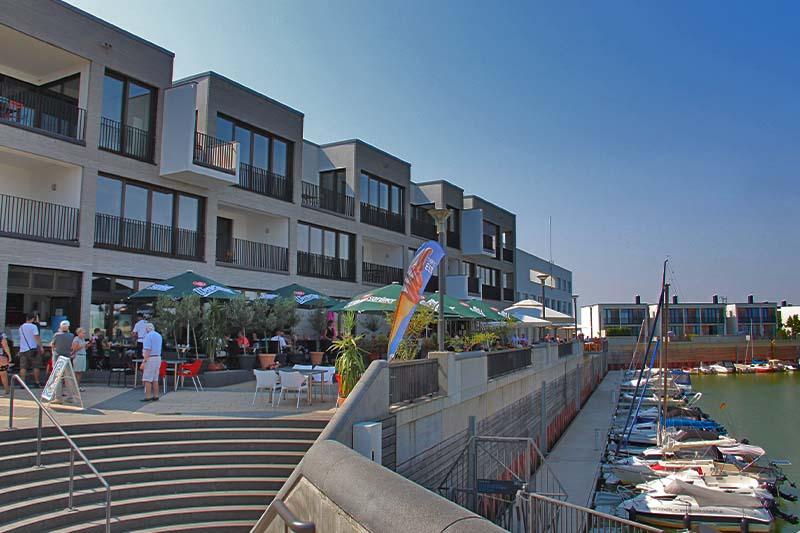 Hafen Zwenkau Seeterasse Freisitz