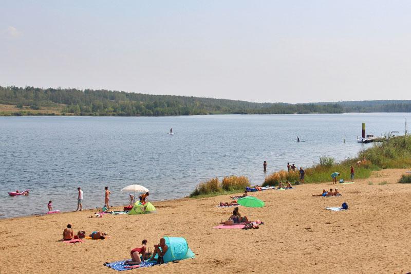Strand am Zwenkauer See
