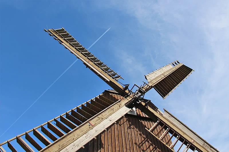 Blockwindmühle Zwochau